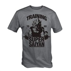 Camiseta divertida Super Saiyan