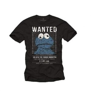 Camiseta serigrafiada original Wanted