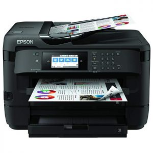 Impresora Workforce en negro de Epson