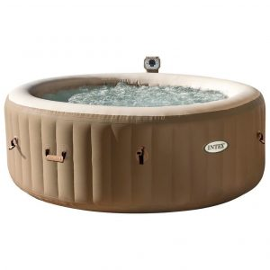 Kit de jacuzzi hinchable crema