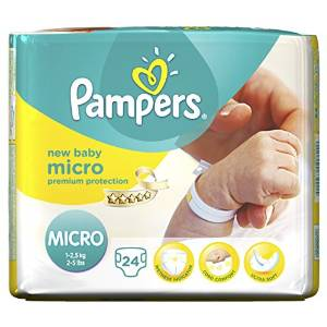 Micro pañales Pampers